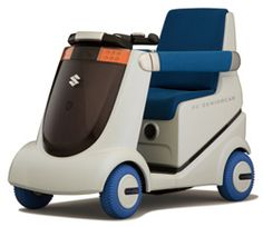 The MIO Fuel Cell-Powered Wheelchair (2006).  No stopping senior citizens ...ha!!!