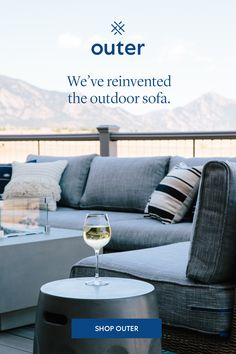 The world's most comfortable durable and innovative outdoor sofa that practically keeps itself clean. Outdoor Sofa, Outdoor Living, Outdoor Decor, Kate Middleton Wedding Dress, Deck Furniture, Furniture Ideas, Back Patio, Modular Sofa, Home