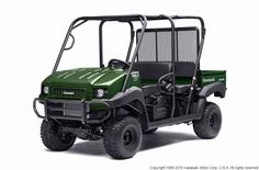 New 2016 Kawasaki MULE 4010 Trans4x4 ATVs For Sale in Ohio. The MULE 4010 Trans4x4® side x side is a versatile mid-size two to four-passenger workhorse that's capable of both putting in a hard day of work as well as touring around the property.FeaturesFlexible convertible design lets you easily change from a four-seat crew mover to a two-seat cargo hauler, without the need for tools617cc fuel-injected, V-Twin engine produces reliable performanceSelectable 2WD or 4WD with dual-mode rear…