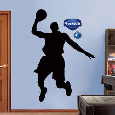 Basketball Player Silhouettes ウォールステッカー