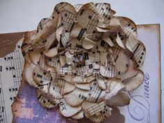 Music Flower- Pam Evenson- I can see this in your house!