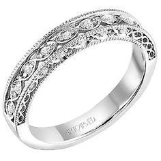 Antique Style Wedding Ring