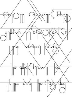 Futuracha the font [free download] by odysseas gp, via Behance