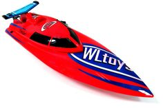 2.4GHZ Freedom High Speed Racing Boat (Red)