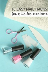 I've found that doing manicures at home is a FABULOUS way to SAVE MONEY. By doing a little research, I've found some nail hacks that I can't live without. I seriously can't believe I've gone most of...