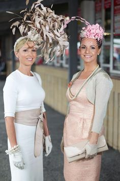 Love the cute little pink one - Racing Fashion Australia - Millinery