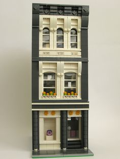 A modular building based on my avatar.  It's Soho meets Friends.  Instructions available through my blog, Modulars by Kristel, and BrickLink, and eBay.