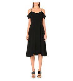 WHISTLES Yolanda crepe dress