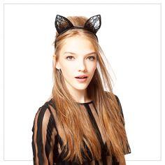 Cat loveuses, qui ose le headband oreilles de chat ? :) v/ @Stéphanie ByGlam