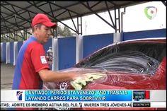 Periodista Venezolano Que Salió Huyendo De Su País Ahora Trabaja Lavando Carros Para Sobrevivir En Santiago