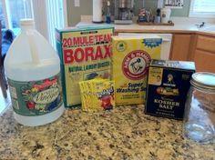 DIY: Homemade Dishwasher Soap & Rinsing Agent