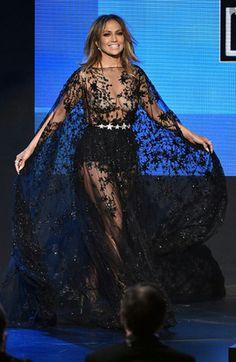 Jennifer Lopez AMA's 2015