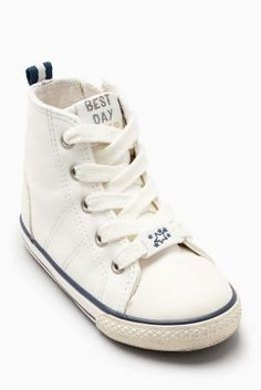 White High Tops (Younger Girls)