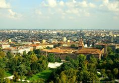 View from Branca Tower of Milan, Italy - What to do in Milan @lozula