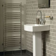 Heated Towel Rail - Heated Towel Rails - Shop by type - Bathrooms | Fired Earth