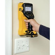 The future of home remodeling has arrived! Say goodbye to guessing what's behind the wall when working on your next renovation project. The DEWALT is a revolutionary cordless tool c. Garage Atelier, Dewalt Power Tools, Cordless Tools, Tool Shop, Garage Tools, Home Workshop, Professional Tools, Work Tools, Tools And Equipment