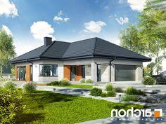 projekt Dom w araukariach (G2) lustrzane odbicie 2