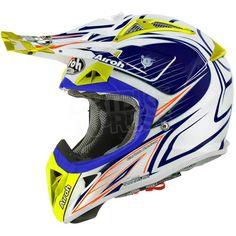 2015 Airoh Aviator 2.1 Helmet Linear Bi Colour