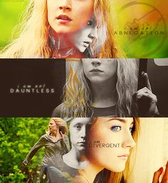 Abnegation, dauntless, DIVERGENT!