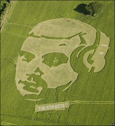 Field Eco Art - The Street Mike Skinner's Crop Circles