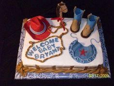 Love this cowboy cake!