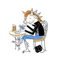 Monster cafe . #monster #cafe #happyhalloween #halloween #halloween2017 #digitalart #artguide_illustration #moreillustrations #illustration_best #best_of_Illustrations #illust #childrenswritersguild #whimsical #dailyillustration #illustration #fragarixie Halloween 2017, Happy Halloween, Black And White Illustration, Botanical Illustration, Cover Art, Whimsical, Digital Art, Snoopy, Books