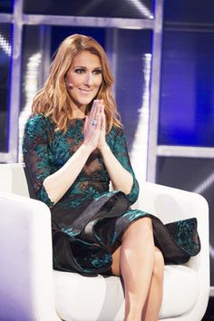 Les premières images de Céline Dion à «En direct de l'univers» (PHOTOS/VIDÉO)