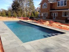 Love The Paver Decking Pool Patio Landscape In