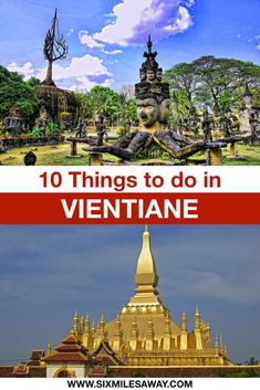 Don't know what to do in Vientiane? Here come 10 things to do in Vientiane and more Laos travel tips. The Vientiane Night market, temples and COPE visitor center should be on your list. Luang Namtha, Luang Prabang, Travel Guides, Travel Tips, Travel Destinations, National Museum, National Parks, Stuff To Do