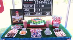 Baseball Birthday Party Ideas   Photo 9 of 29   Catch My Party