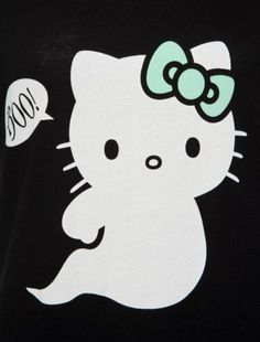 BOO!!!! Hello Kitty Ghost #HelloKitty #HelloKittyHalloween