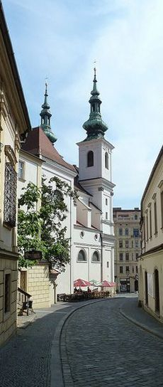 The church of St.Michael, Brno (South Moravia), Czechia