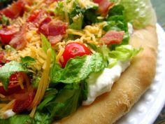 BLT Ranch Salad Pizza