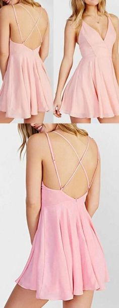 Chiffon Homecoming Dress,Sexy Prom Dress,Cute homecoming dresses,short homecoming dress for teens new fashion sweet 16 gowns #dressforteenscasual