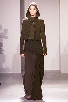 Rick Owens Fall 2002 Ready-to-Wear Fashion Show - Amy Wesson, Rick Owens