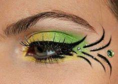 Le maquillage de la Fée Clochette Idées (photo 18) - Ma Folie Des Fêtes