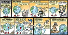 Agree with comic strip about global warming pity, that