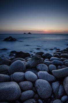 Bold and Boulder (Porth Nanven) by Bob Small | Cornwall, England