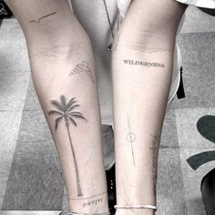 I love every tattoo and their placement. Awesome