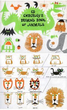 Ed+Emberley%27s+Drawing+Book+of+Animals.jpg (468×765)