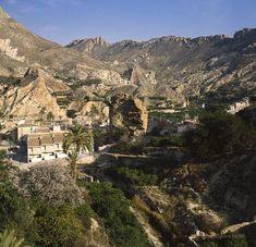 El valle de Ricote, Murcia.