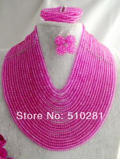 free shipping! Z-940 Fashion Amazing African Crystal Jewelry Set For Wedding Or Party $118.66