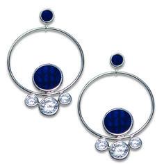 73ea1a157c3 Swedish Grace Midnatt Skimra Earrings