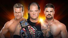 United States Champion Baron Corbin vs. Bobby Roode vs. Dolph Ziggler (Triple Threat Match)