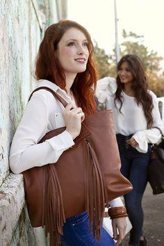 Leather Bags #jennifermiddletonbags #luxurydesignerbags www.jennifermiddletonbags.com The Ostrich, Fringe Fashion, Beautiful Lines, Creating A Brand, Leather Backpack, Photoshoot, Elegant, Chic, Unique