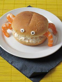 Bocata de cangrejo