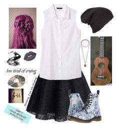 """""""Death Of A Bachelor ~ Panic! At The Disco"""" by realbandssavefans96 ❤ liked on Polyvore featuring Banana Republic, Lime Crime, Dr. Martens and Etro"""