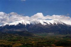 Mount Olympus As Seen From Katerini