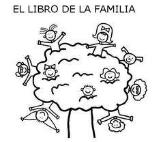 """""""El libro de la familia"""", para pintar."""