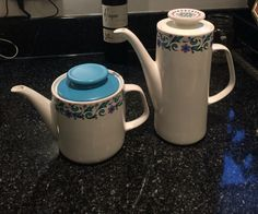 J&G Meakin Studio Coffee and tea pot  Mandalay variant  Part of my own collection
